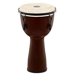Meinl Journey Series Mechanical Tuned 10'' Djembe Goat Head, Brown