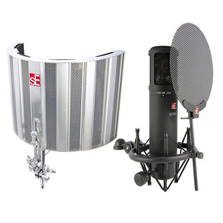 sE Electronics SPACE Reflection Filter and sE2200a MP Microphone