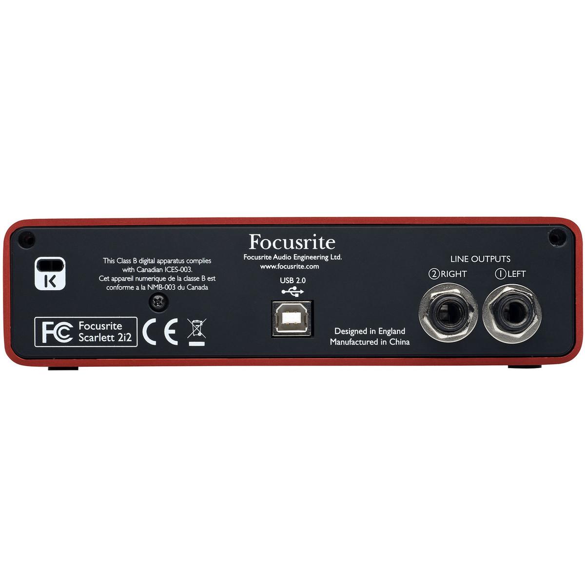 focusrite scarlett 2i2 usb audio interface at. Black Bedroom Furniture Sets. Home Design Ideas