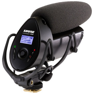 Shure VP83F Lenshopper Camera-Mount Mic w/ Integrated Flash Recording
