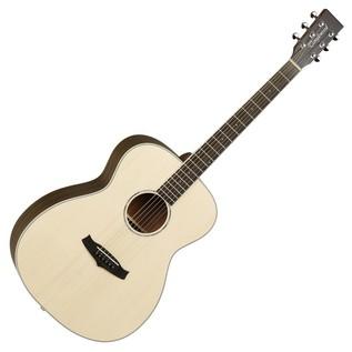 Tanglewood TPEF-ZS Premier Folk Acoustic Guitar, Zebrano