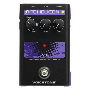 TC Helicon VoiceTone X1 Megaphone and Distortion Vocal Processor.2