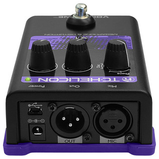 TC Helicon VoiceTone X1 Megaphone and Distortion Vocal Processor (Back)