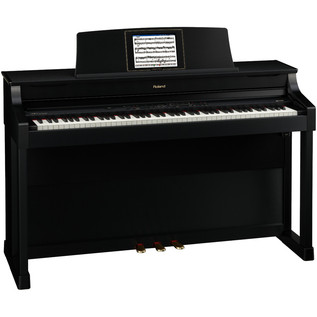 Roland HPi-7F Digital Piano, Satin Black