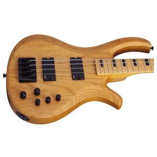 Schecter Riot Session-4 Bass Guitar, Natural Satin