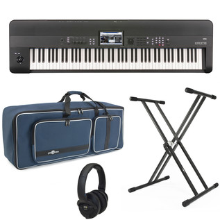 Korg KROME 88 Key Workstation with FREE Stand, Bag + Headphones