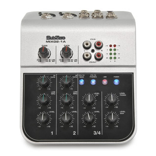 Mackie Thump TH-15A (Pair) PA System Including Mixer, Stands + Cables
