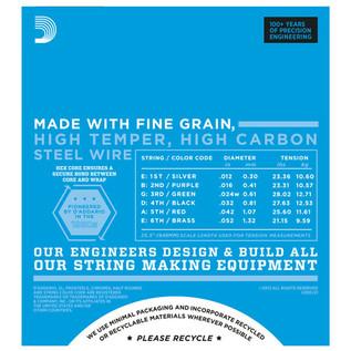 D'Addario EXL120 Electric Guitar Strings, Super Light 9-42