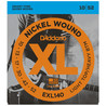 D'Addario EXL140 Nickel Wound, lätta Top/Heavy botten, 10-52