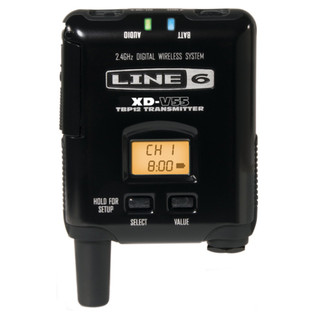 Line 6 XD-V55HS Digital Wireless Headset Mic System - transmitter