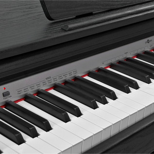 DP10 Digital Piano by Gear4music, Matte Black