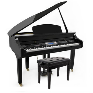 Minster GDP-500 Digital Grand Piano with Deluxe Piano Stool