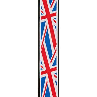 Planet Waves Woven Guitar Strap, Union Jack