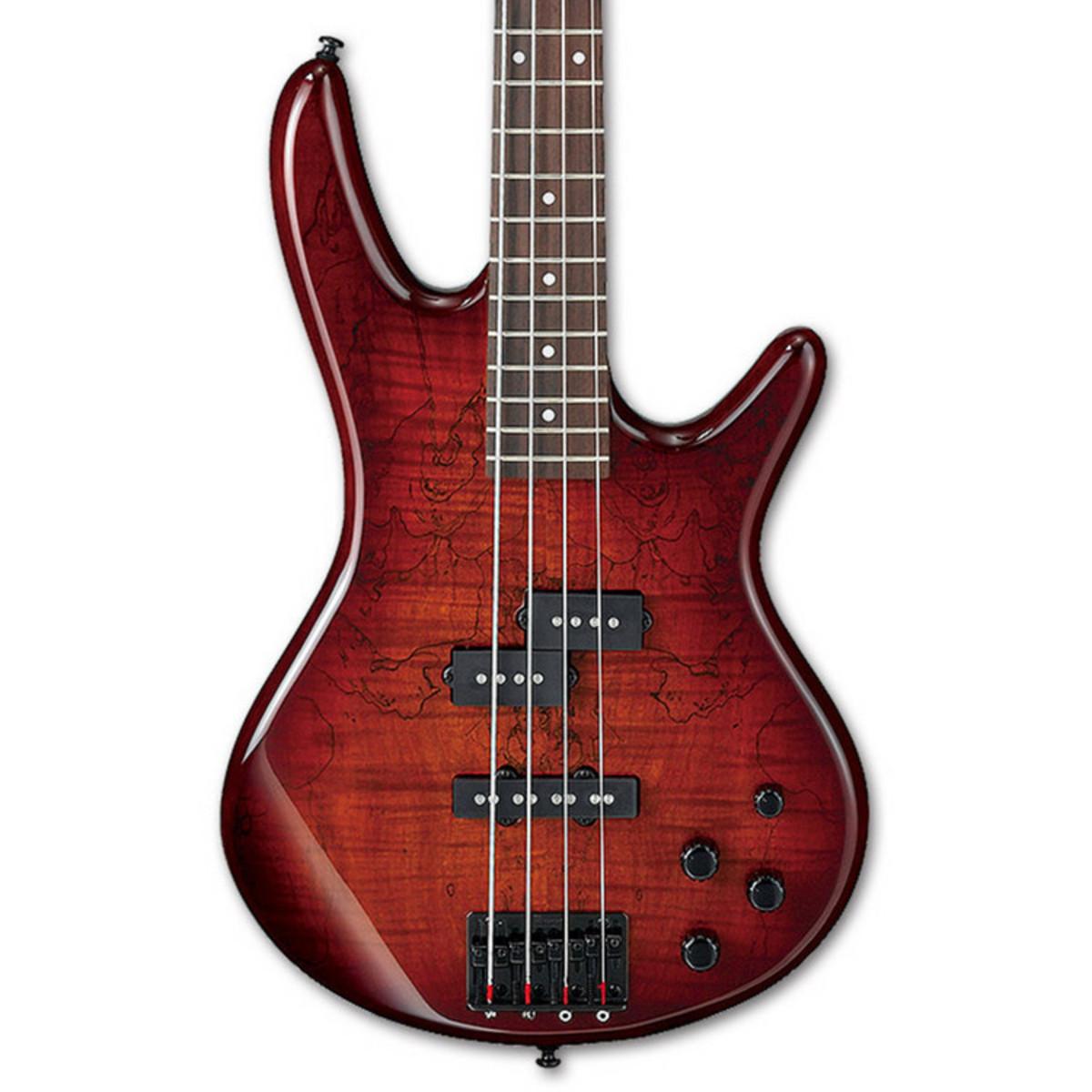 ibanez gsr200 gio bass guitar charcoal brown burst gig bag at. Black Bedroom Furniture Sets. Home Design Ideas