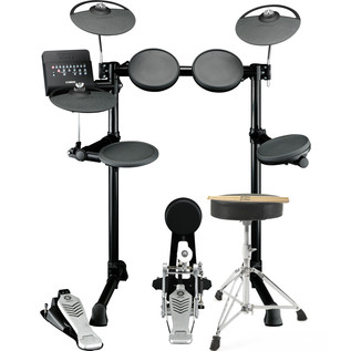Yamaha DTX450K Electronic Drum Kit with Free Stool and Sticks