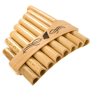 Percussion Plus Bamboo Panflute, 8 Note