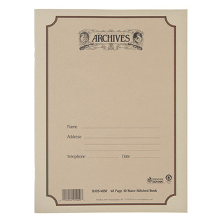 D'Addario Archives 10 Stave, 48 page Book, Stitched
