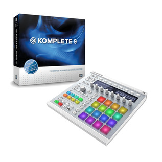 Native Instruments Maschine MK2 (White) and Komplete 9 Bundle