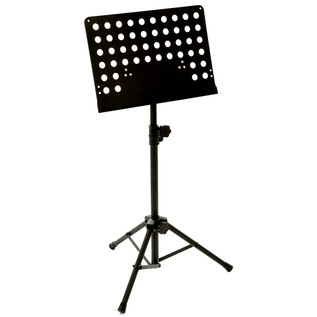 Percussion Plus PP976 Orchestral Music Stand, Black