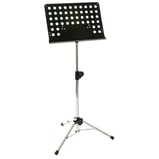 Percussion Plus PP977 Orchestral Music Stand, Chrome