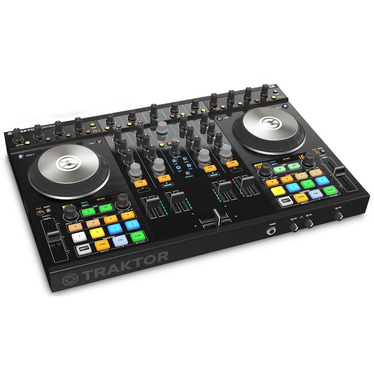 Image of Native Instruments Traktor Kontrol S4 MK2 DJ Controller
