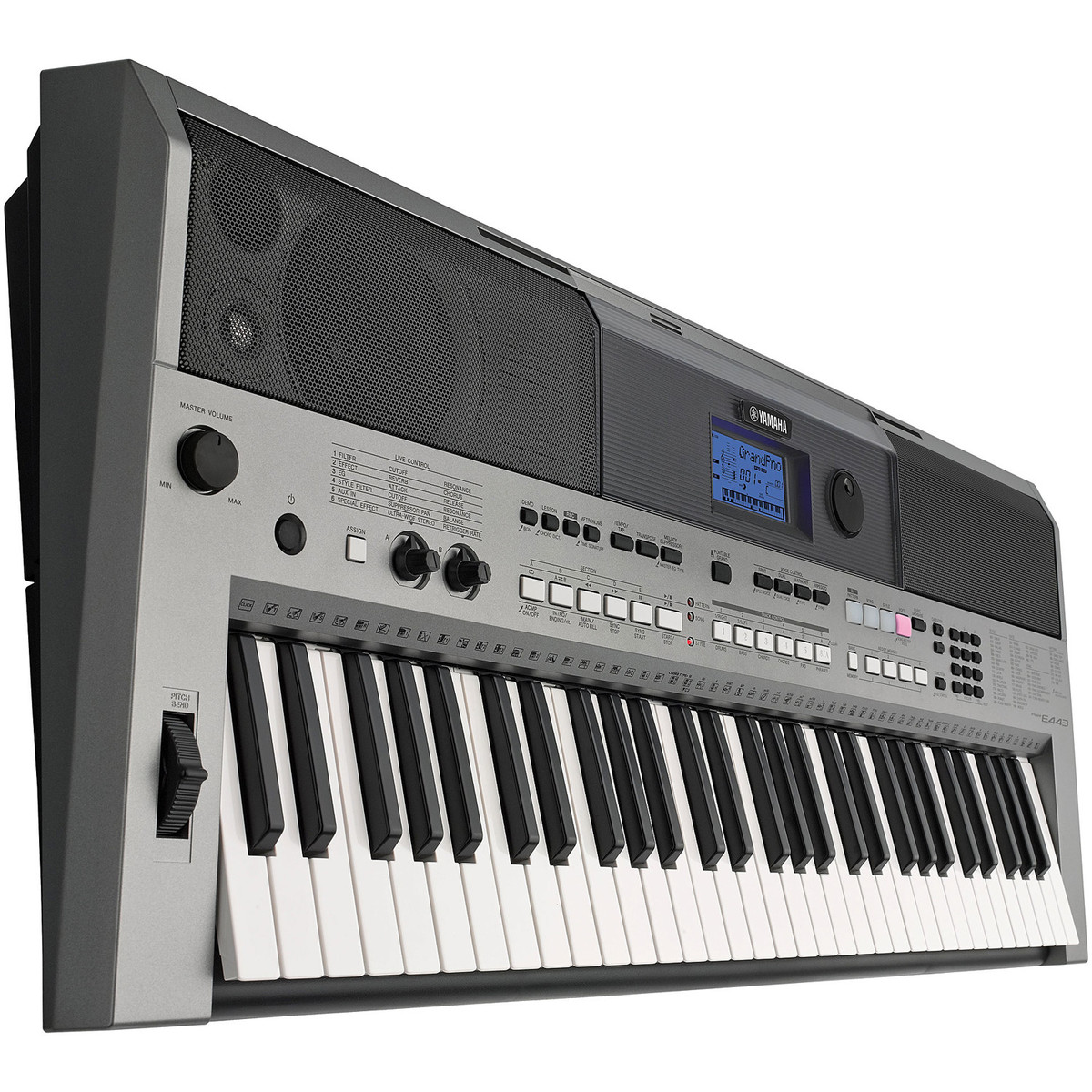 yamaha psre 443 keyboard at. Black Bedroom Furniture Sets. Home Design Ideas