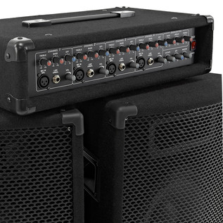 150W SubZero PA System with FX Mixer and Speakers