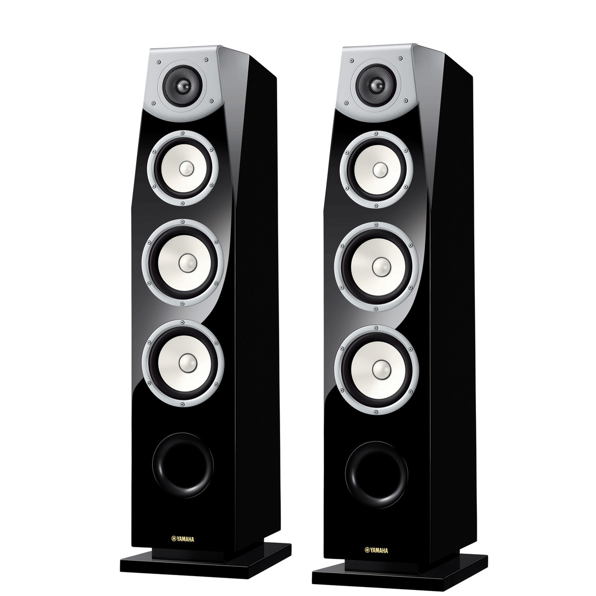 yamaha ns f901 soavo floor standing speaker pair piano. Black Bedroom Furniture Sets. Home Design Ideas
