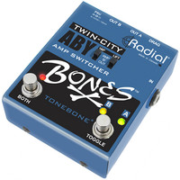 Radial Bones Twin-City ABY Amp Switcher Guitar Pedal