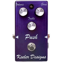 Keeler Designs Push Overdrive Guitar Pedal