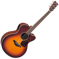 Yamaha FJX720SC Electro Acoustic Guitar Brown Sunburst