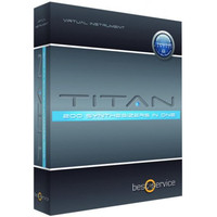Best Service Titan synthesizer sound collection