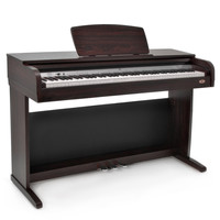 DP-10 Digital Piano by Gear4music Dark Rosewood