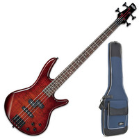 Ibanez GSR200 Gio Bass Guitar Charcoal Brown Burst + Gig Bag