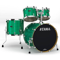 Tama Starclassic Performer B/B 4 Pc Shell Pack Vintage Green Sparkle