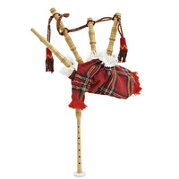 Chanter Bagpipes by Gear4music Junior Royal Stewart