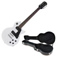 Epiphone Les Paul Studio Electric Guitar Alpine White with Hard Case