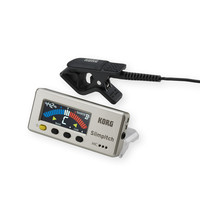 Korg Slimpitch Chromatic Tuner + Contact Microphone Pearl Gold