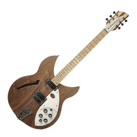 Rickenbacker 330 Semi Acoustic Guitar Walnut