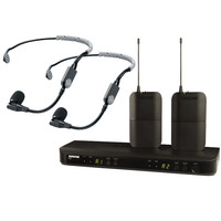 Shure BLX188UK/SM35-K3E Dual Wireless SM35 Headset System