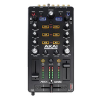 Akai AMX Control Surface with Audio Interface for Serato DJ