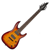 Jackson X Series SLATTXMGQ3-7 Soloist 7-String Guitar Tobacco Burst