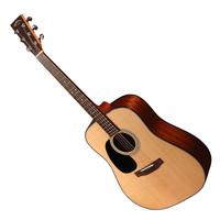Sigma DM-1STL Left Handed Acoustic Guitar Natural