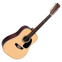 Sigma DR12-28 12 String Dreadnought Acoustic Guitar Natural