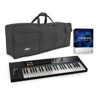 Native Instruments Kontrol S49 and Komplete 10 Ultimate with Bag