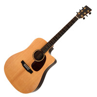 Sigma SDRC-12E Electro Acoustic Guitar Natural