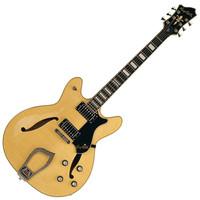 Hagstrom Viking Deluxe Semi-Hollow Guitar Natural