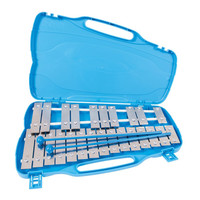 Performance Percussion G5-G7 25 Note Glockenspiel Silver Keys
