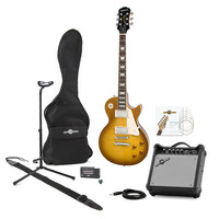 Epiphone Les Paul Standard PlusTop PRO Guitar Pack Honey Burst