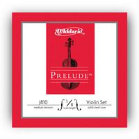 DAddario Prelude Violin String Set 1/4 Scale Medium Tension